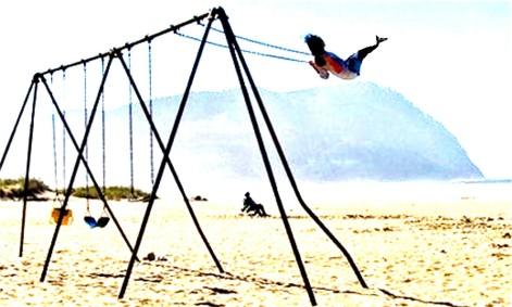 blog mermaid on the swing step one