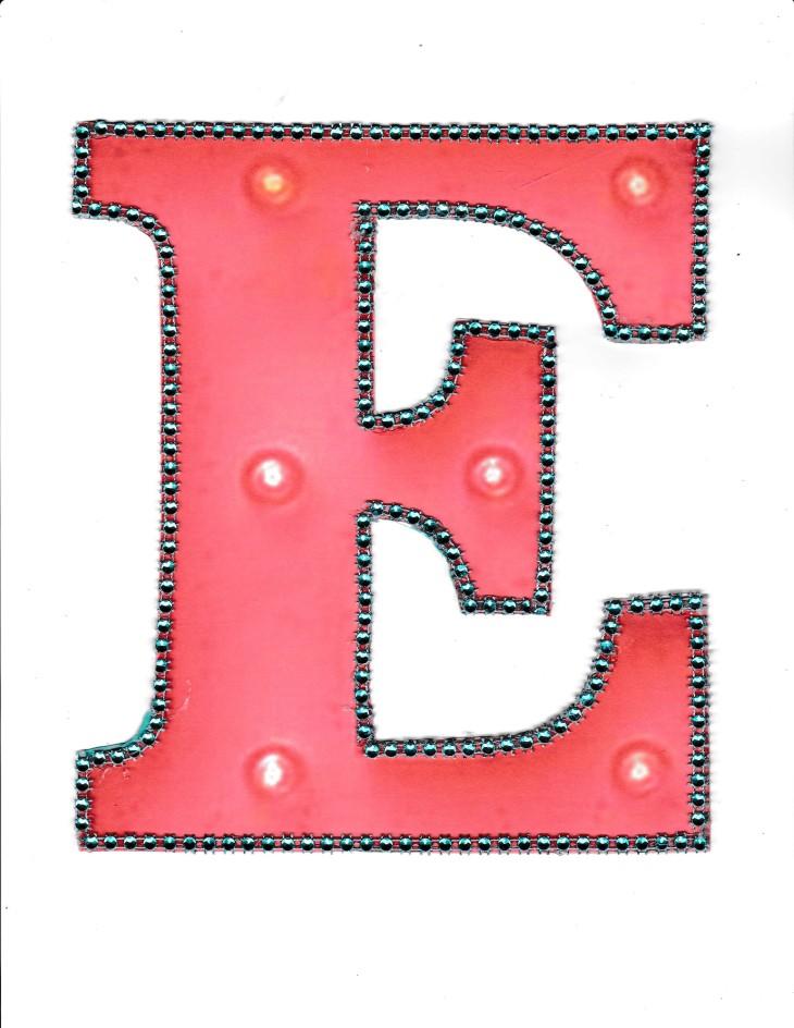 blog letter e