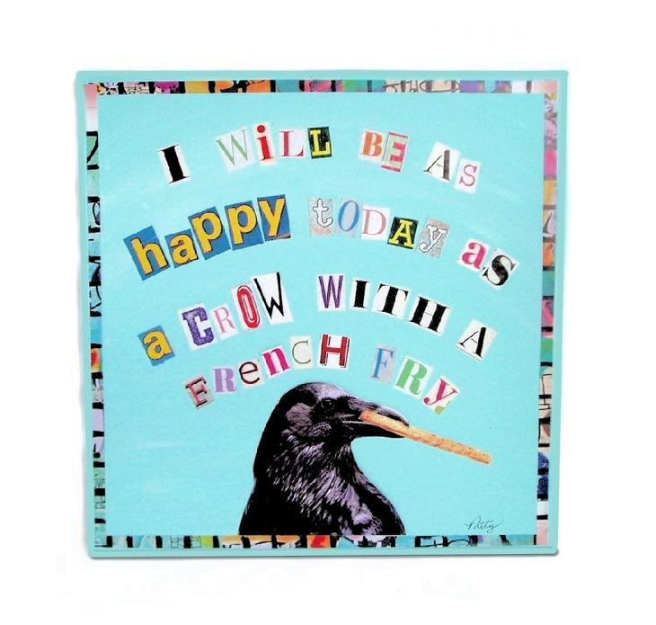 etsy crow