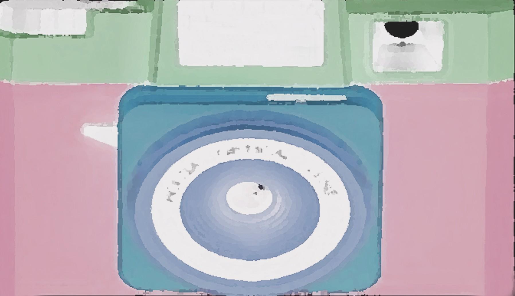 camera 6 x 3.5 pink