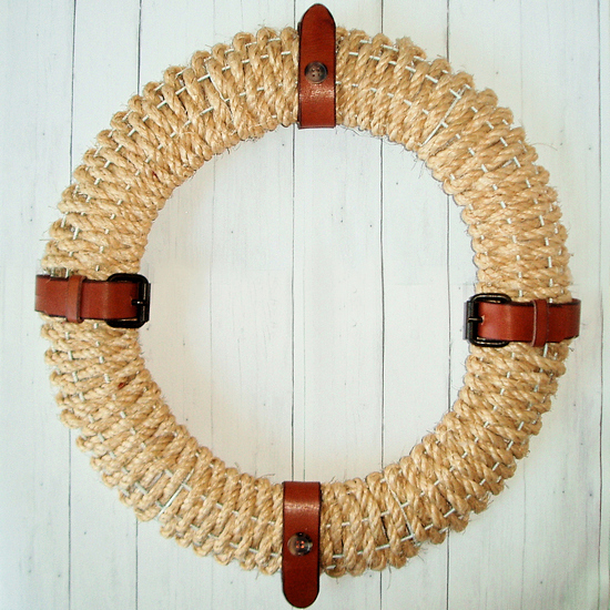 wreath sisal feature
