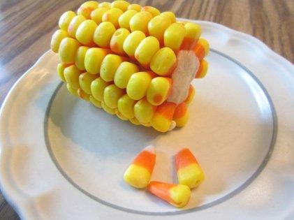 candy corn marzipan corn on the cob