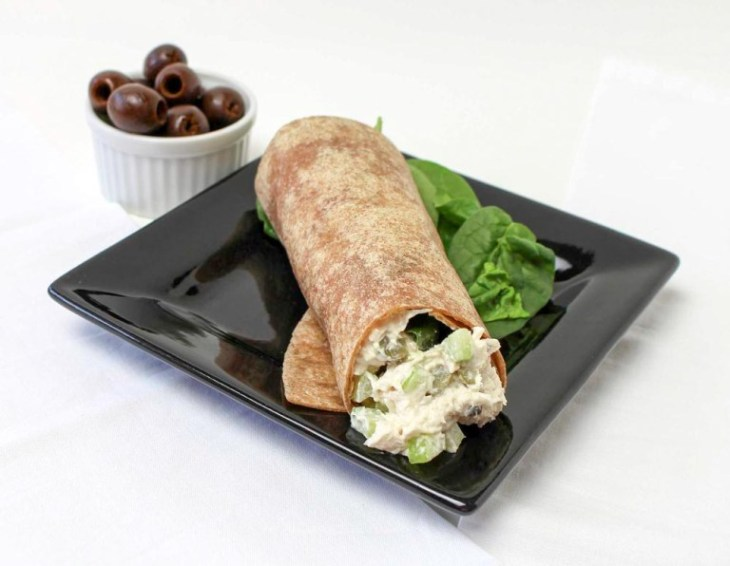 Chicken-Salad-In-A-Whole-Grain-Wrap-4