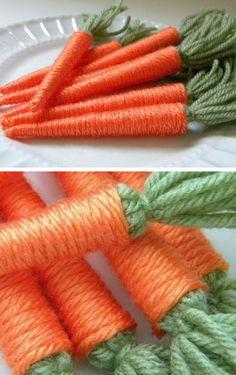 yarn carrots