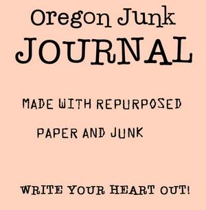 OREGON JUNK JOURNAL TAG