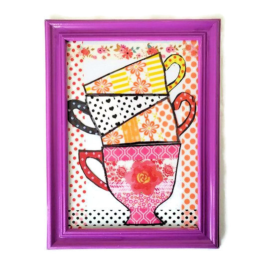 new washi tape cup feature