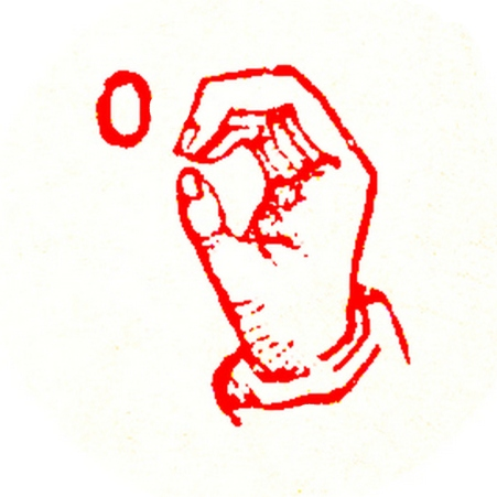 red letter o