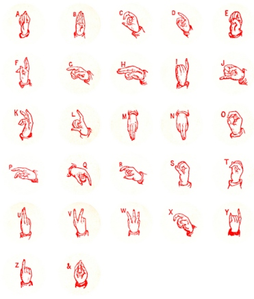 red sign language 600pxl