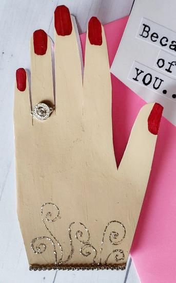 val washi tape hand