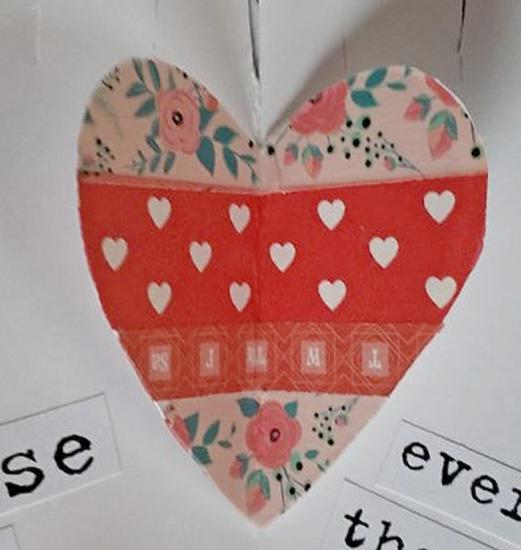 val washi tape heart