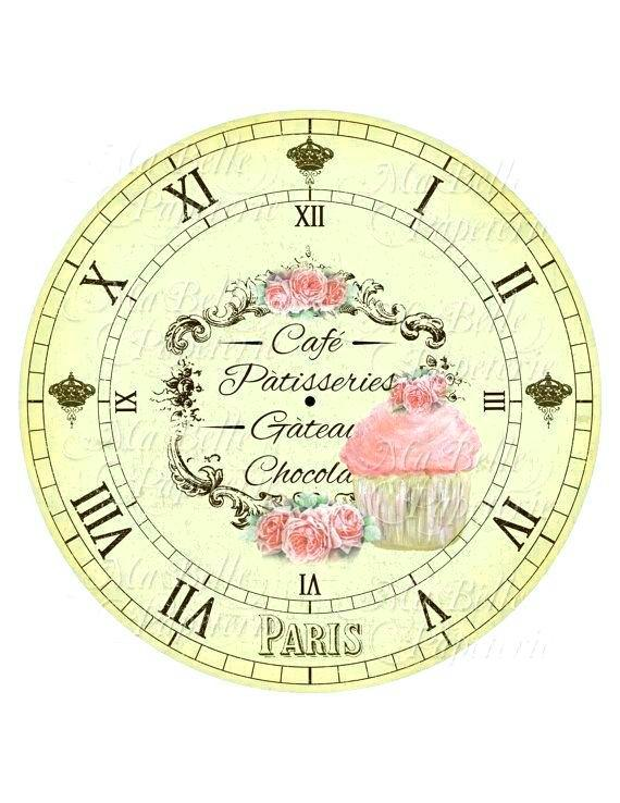 clock-shabby-chic-face-french-cafe-free-printable-template-worksheet