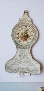 paper clock front