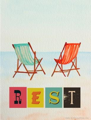 rest free printable
