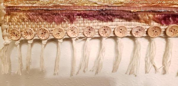 ribbon wall hanging bottom