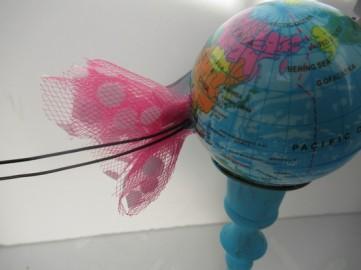 globe skirt back