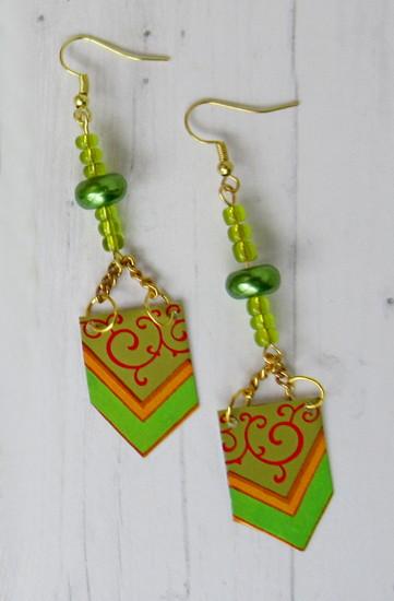 tin 2 earrings