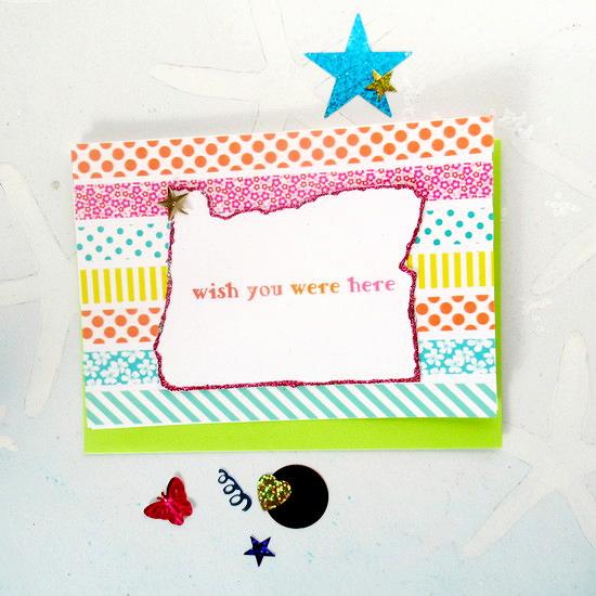 washi card feature c