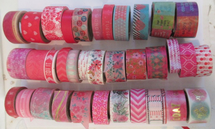 washi tape valance start