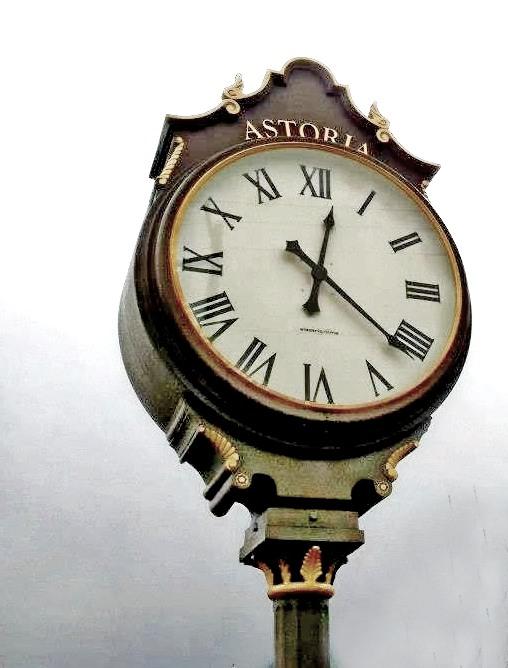 astoria clock