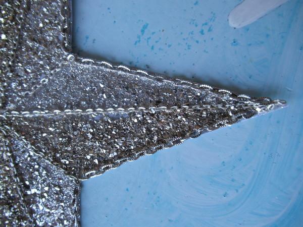 junk jewelry start before glitter closeup