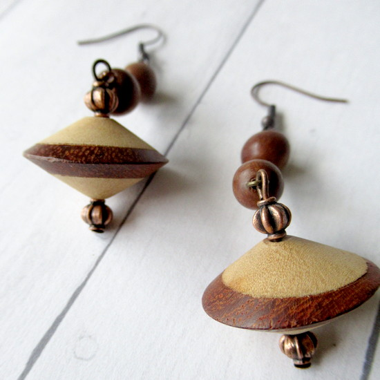 wood you earrings