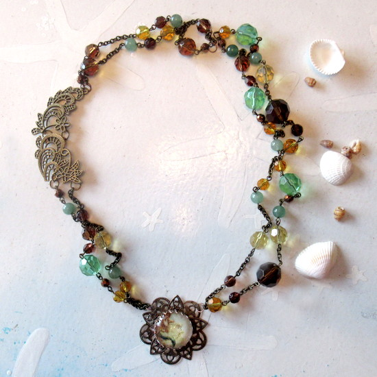 bracelet to mermaid necklace feature