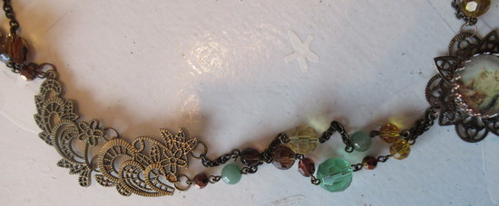 bracelet to mermaid necklace side