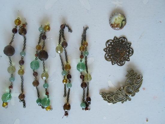 bracelet to mermaid necklace start
