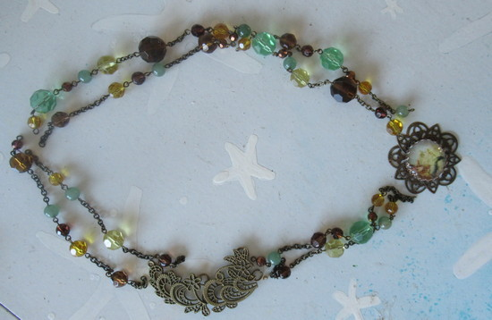 bracelet to mermaid necklace trial