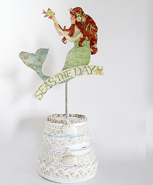 seas the day cake topper