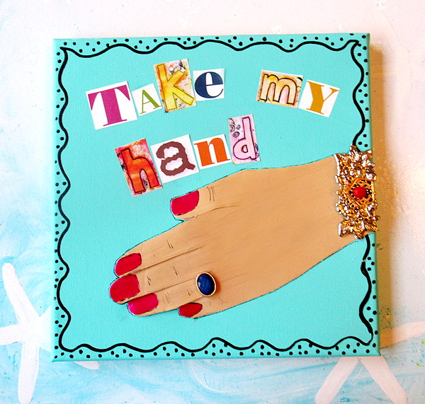take my hand feature