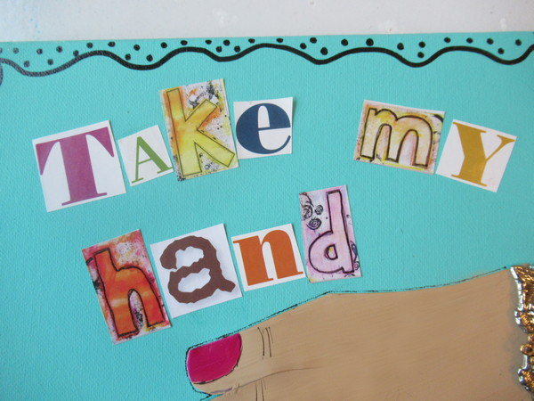 take my hand font