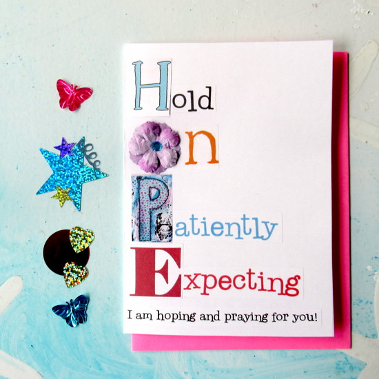 hope greeting card feature