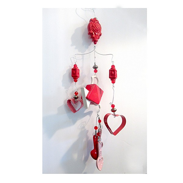 red parts windchime feature