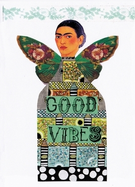 frida feature greeting card front