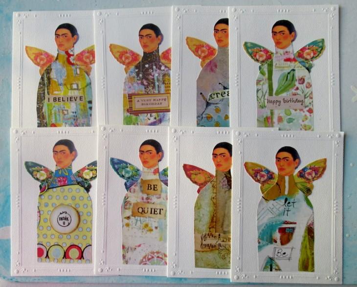 frida greeting cards set