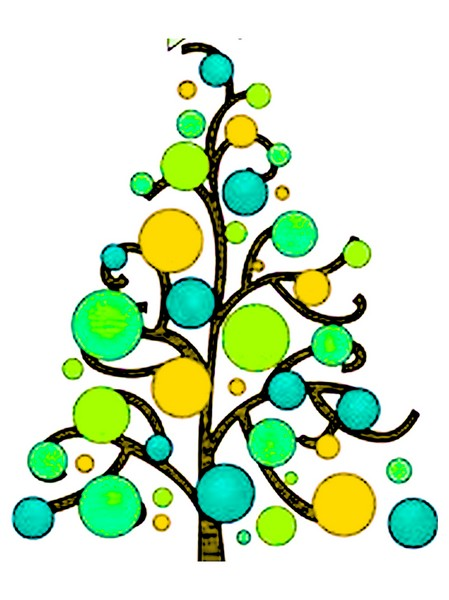 advent mandala christmas tree printablejpeg for pdf