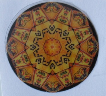 mandala diamond glaze