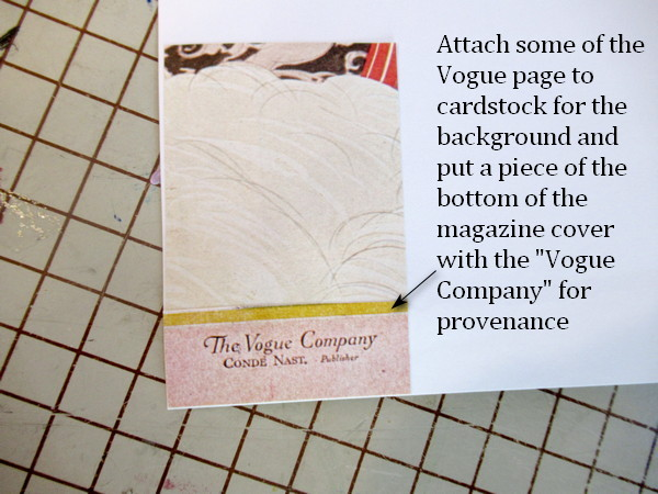 vogue lapel pin card explanation
