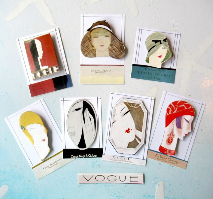 vogue lapel pins feature