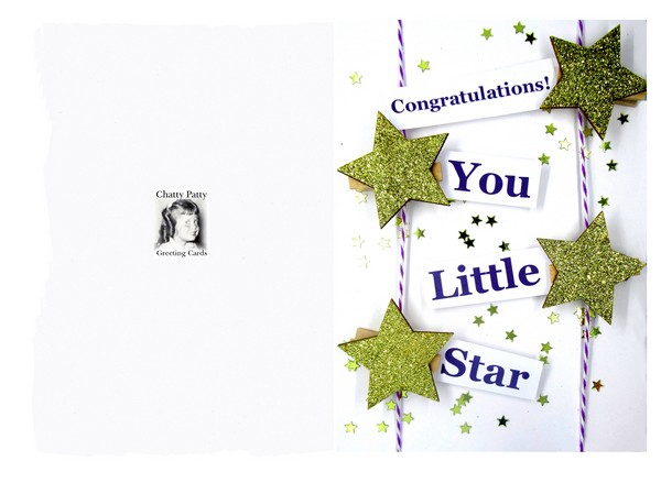 little star printable photo for pdf