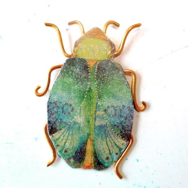 beetle before chain