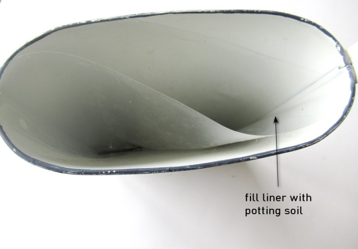 onion pocket liner inside
