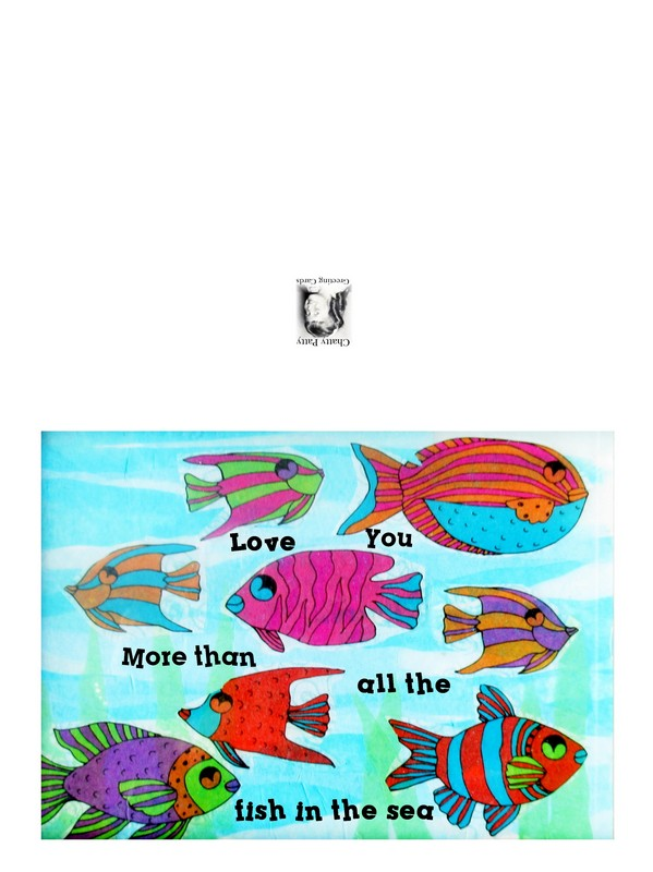 fish in the sea card for pdf
