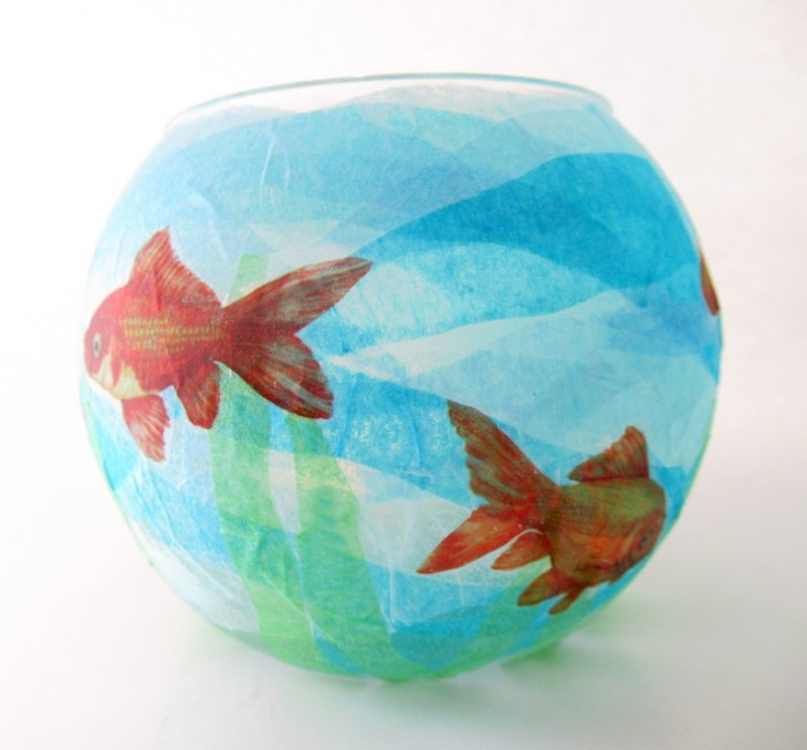 kids craft fish bowl feature