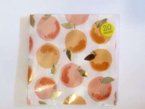 peachy keen napkins