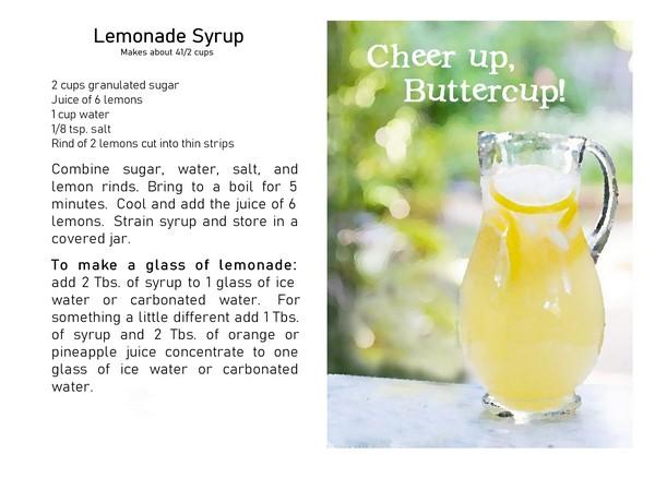 lemonade card pdf photo