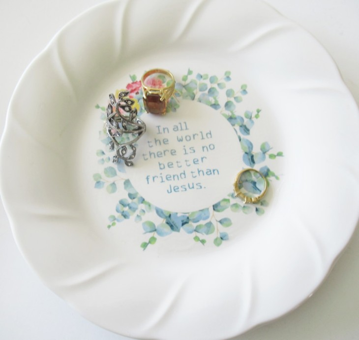 trinket dish feature