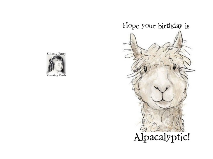 card alpacalyptic photo for pdf