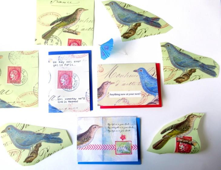 card cavallini paper